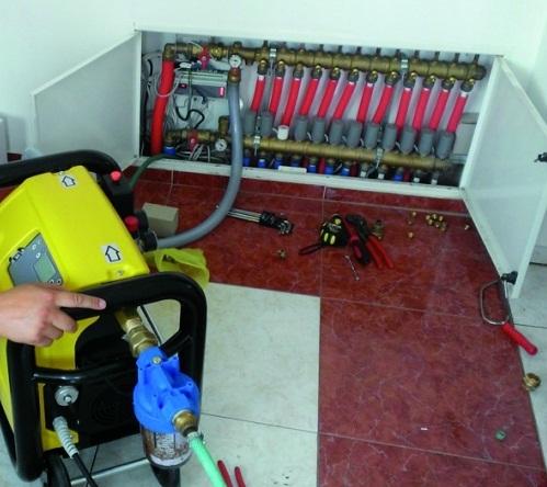Промывка систем отопления в частном доме